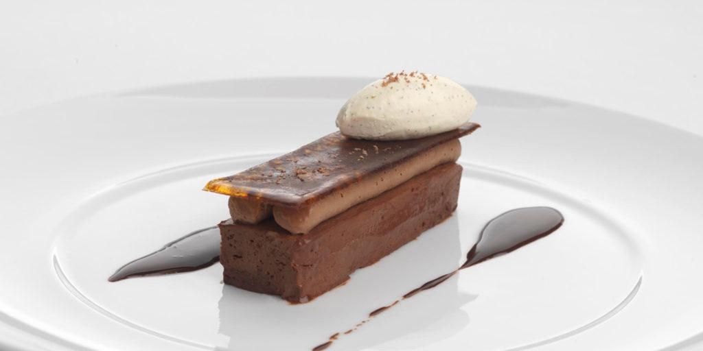 Salted Chocolate Delice Dessert