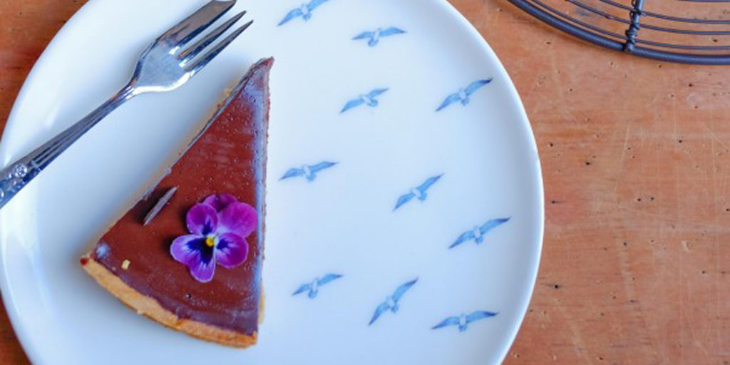 Honey Mead Chocolate Tart