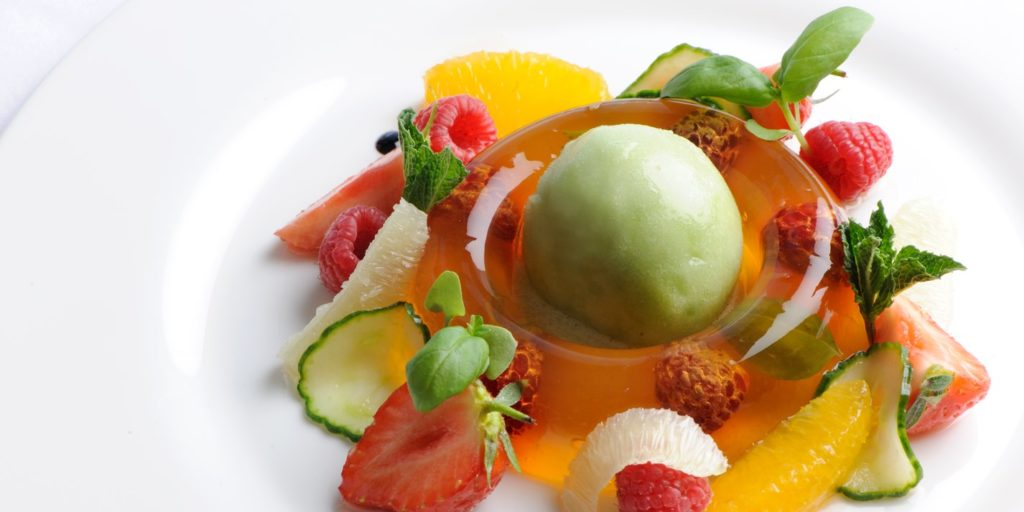 Josh Eggleton's Pimm's Jelly Food Inspiration