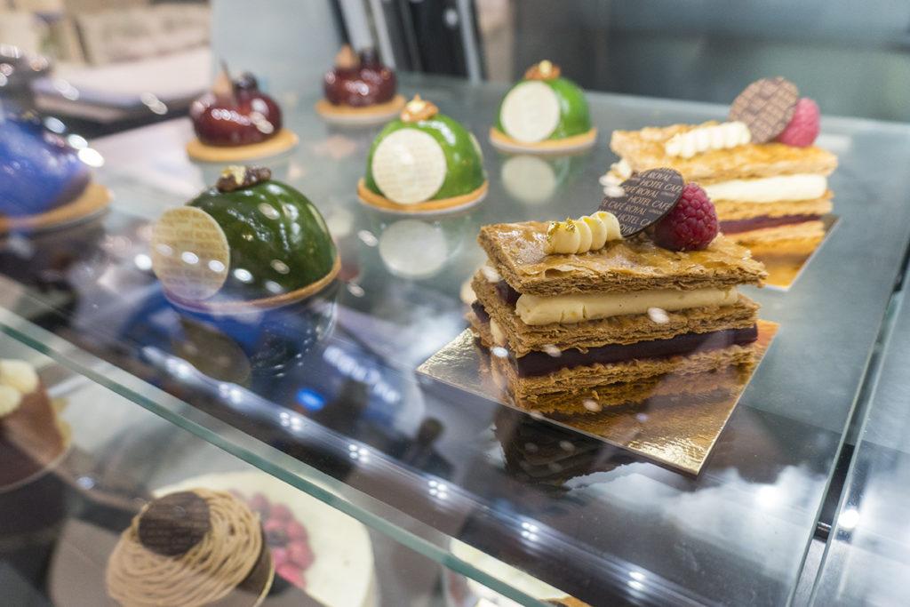 Pastries in True Display Unit