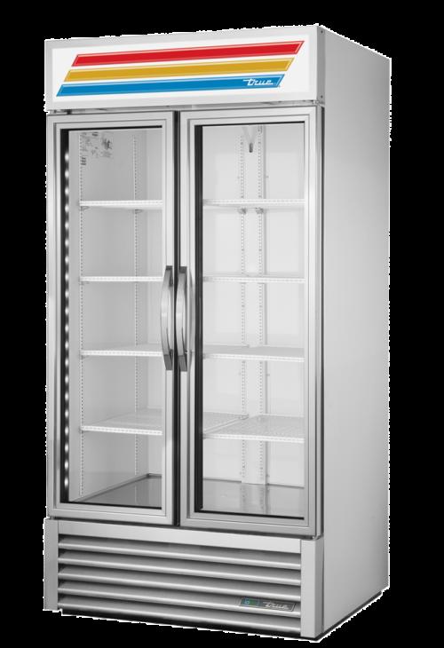 Energy efficient glass doors