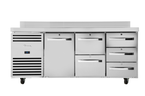 Configurable door and drawer sections