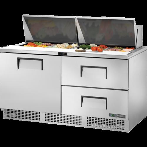 Configurable door/drawer and pan options