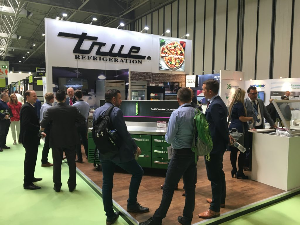 True exhibition stand