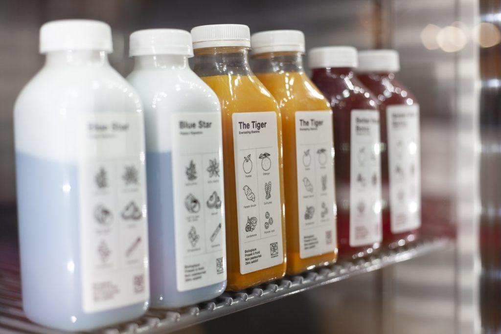 Juices in a True Refrigerator