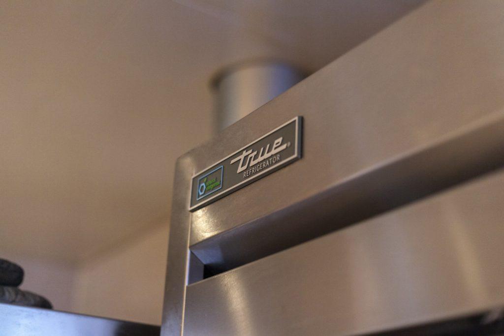 Close Up of a True Refrigerator